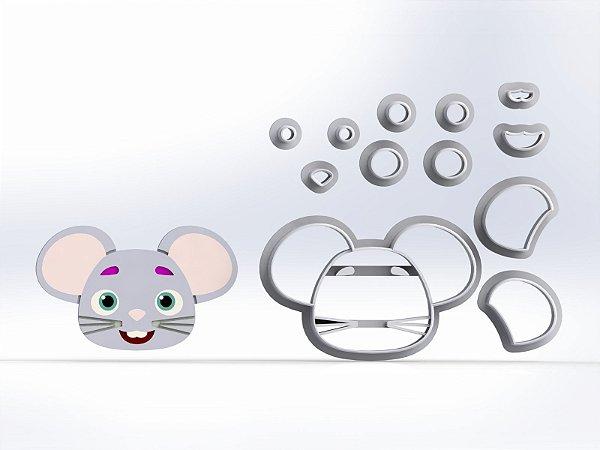 Cortador Cocomelon - Ratinho (Rato)  Modular