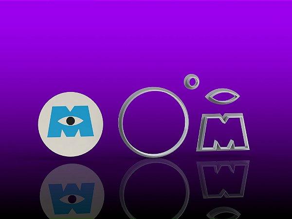 Cortador Monstros S/A -logo Modular