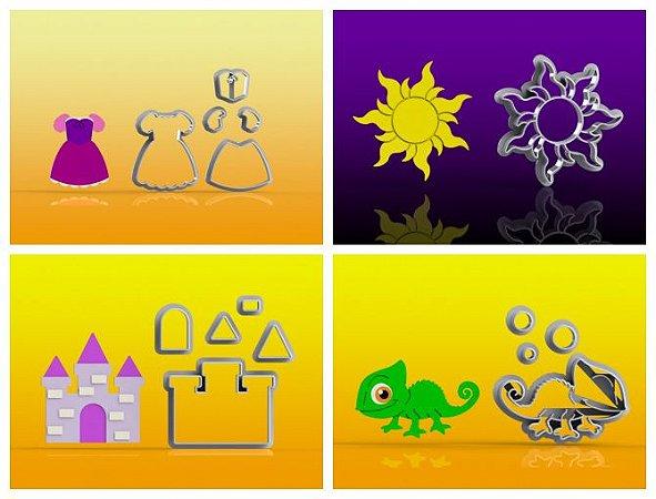 Cortador Kit Rapunzel 4 Modelos Modulares