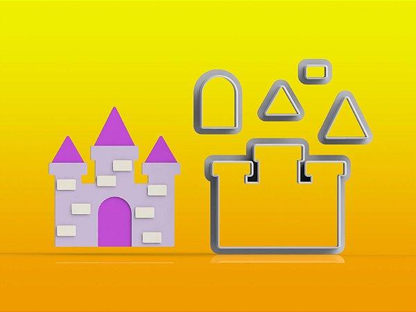 Cortador Rapunzel Castelo Modular