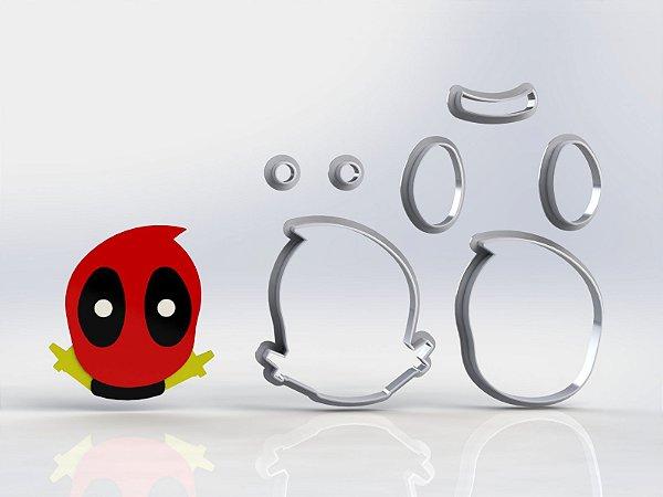 Cortador Deadpool Cute Modular Mod 1