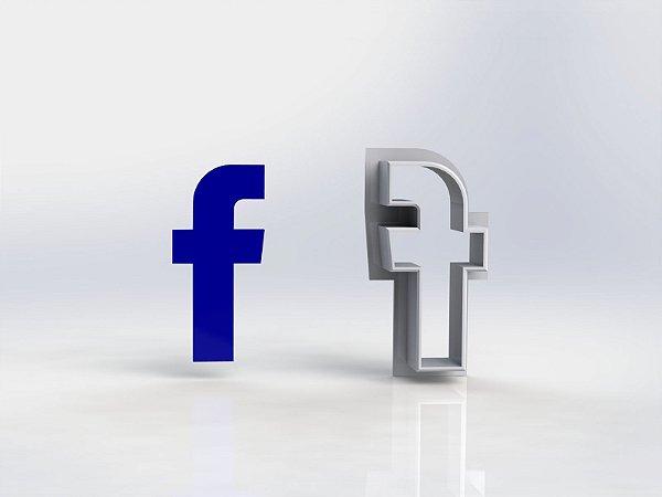 Cortador Redes sociais - Facebook