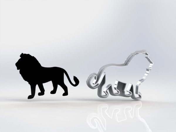 Cortador Rei Leão - Mufasa