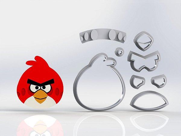 Cortador Angry Birds Red Modular