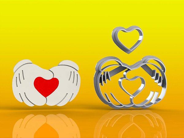 Cortador Mãos do Mickey