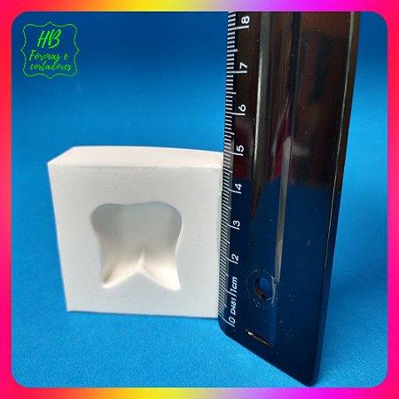 Molde silicone  Dente (Dentinho)