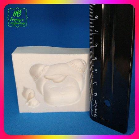 Molde silicone Boneca Metoo