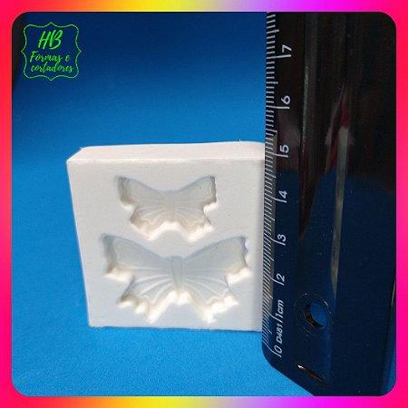 Molde silicone 2 Borboletas