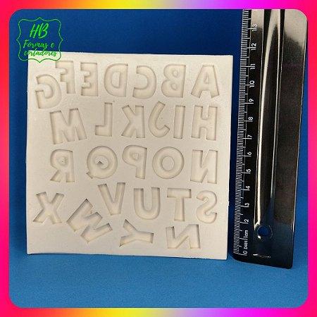 Molde silicone Alfabeto 4