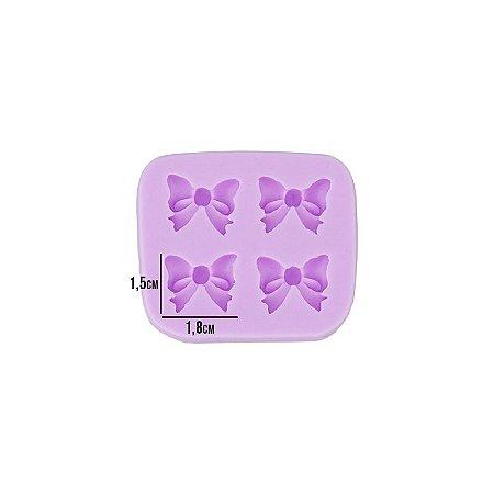 Molde Silicone Mini Laços