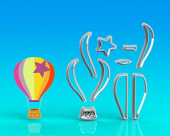 Cortador Mundo Bita - Balão Mod 2 Modular