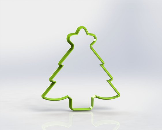 Cortador Natal Árvore de Natal (Pinheiro com estrela)