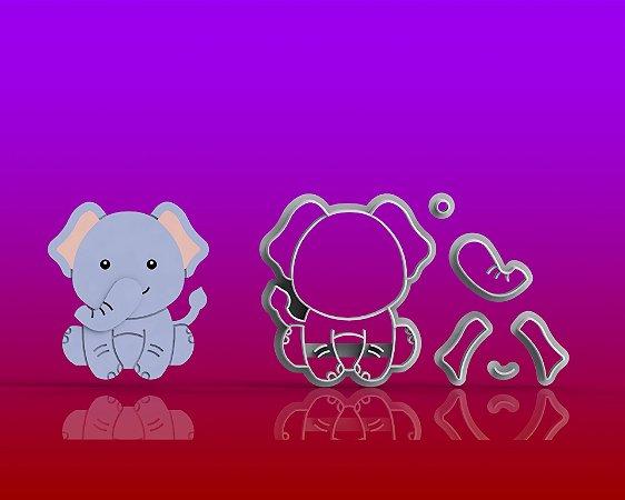 Cortador Safari Corpo - Elefante Modular