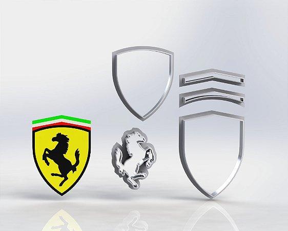 Cortador Escudo da Ferrari Modular
