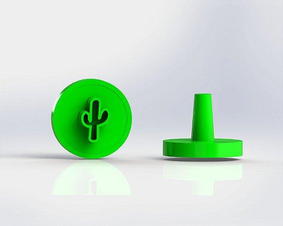 Marcador Docinhos (Carimbo) - Cactus