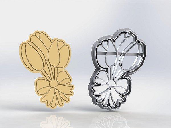 Cortador Flor Tulipa Mod 1