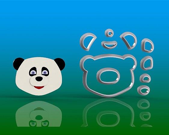 Cortador Masha e o Urso - Panda Modular