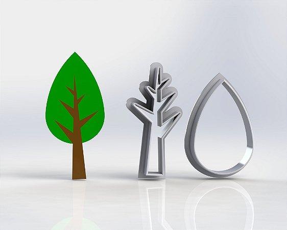 Cortador Árvore Bosque - Modular