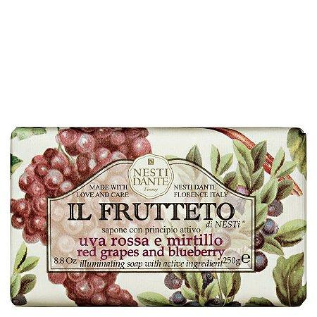 Sabonete Nesti Dante Il Frutteto Uvas Vermelhas e Mirtilo 250g
