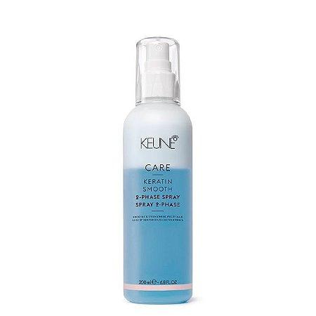 Spray Leave-in Keune Care Keratin Smooth 2 Phase  200ml