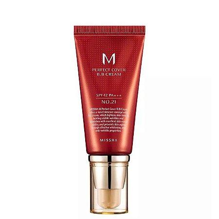 Base Facial Missha M Perfect Cover BB Cream 21  50ml