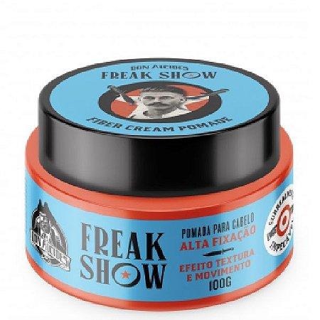Pomada Modeladora para Cabelo Don Alcides Fiber Cream Freak Show