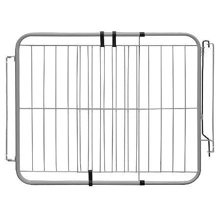 Portão Pet Extensivo - Para Portas de 74 cm a 115 cm - Branco