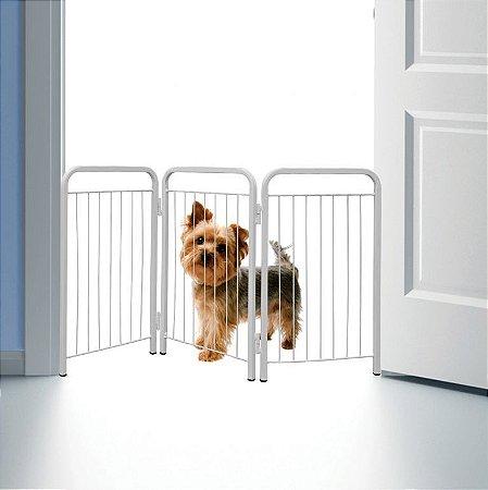 Portãozinho Cercado Portátil para Pets