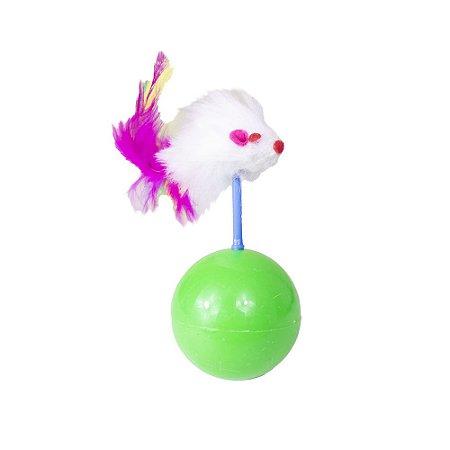 Brinquedo para Gatos - Ratinho João Bobo