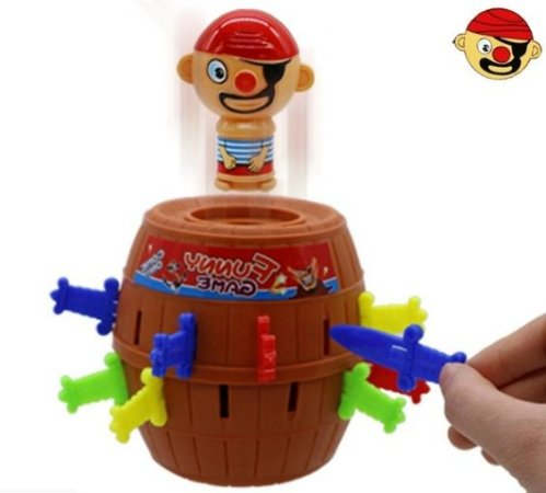 Brinquedo pula pirata novo