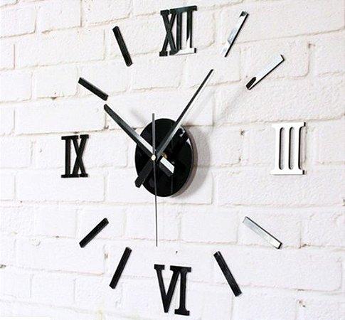Relógio de parede números romanos novo na caixa