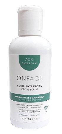 Esfoliante Vegano Onface Argila Verde E Calêndula - 120 Ml