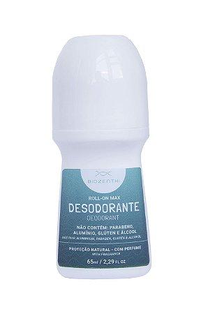 Desodorante Rollon Max (com perfume) Vegano Biozenthi - 60ml