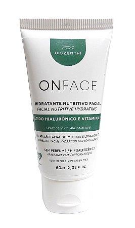 Hidratante Nutritivo Facial Onface Com Ácido Hialurônico Vegano - 60ml