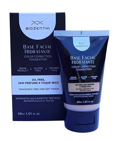 Base Facial Hidratante Vegana Biozenthi 30ml