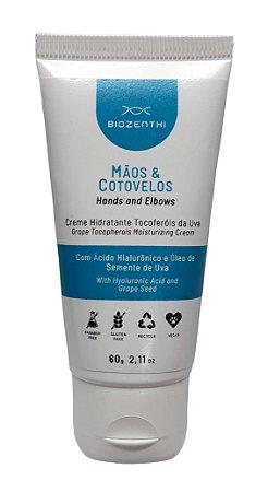 Creme Hidratante Para Mãos e Cotovelos Vegano Biozenthi - 60ml