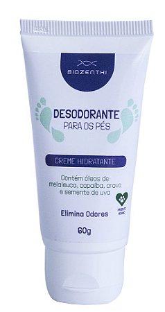 Desodorante Para os Pés Vegano Biozenthi - 60g