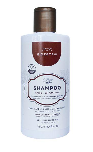 Shampoo de Argan Vegano Biozenthi - 250ml