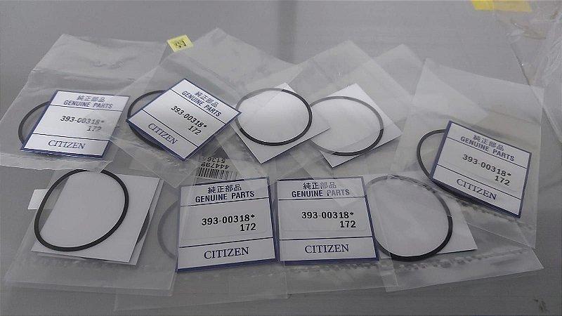 Oring Anel Vedação para Relógio Citizen Aqualand 3740 Original (valor unitário)