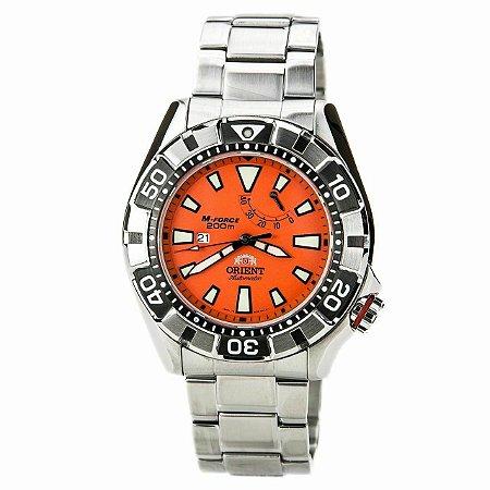 Relógio ORIENT Masculino Automático *M-Force SEL03002M0 O1SX VIDRO SAFIRA - NOVO