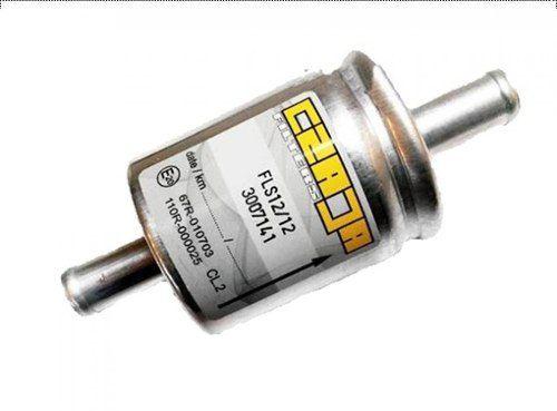 Filtro Para Gnv Kit 5ª Geração Autogas Ecopower Kgm Salini Zavoli SGV TODOS COM MANGUEIRA 12mm interno