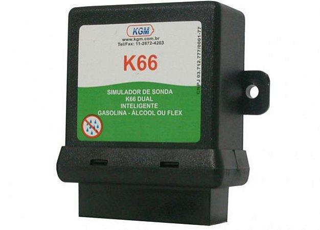 Simulador Emulador Sonda Kgm K66 para Carros Flex com 1 sonda Lambda *Não fica Flex*