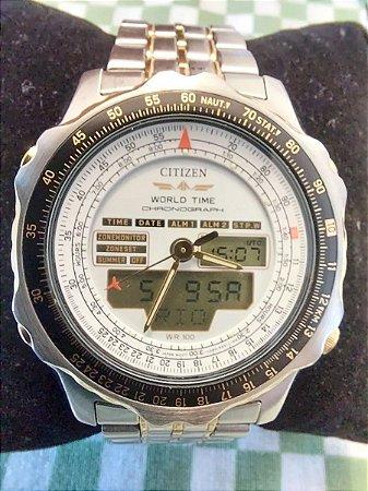 Citizen New Wingman C080 Relógio De Coleção Impecável (pouco uso)