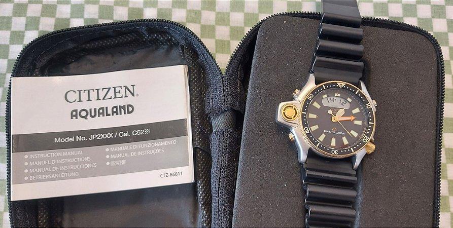 Relógio Citizen Aqualand Jp2004 07e Tz10137p C520 (pouco uso)