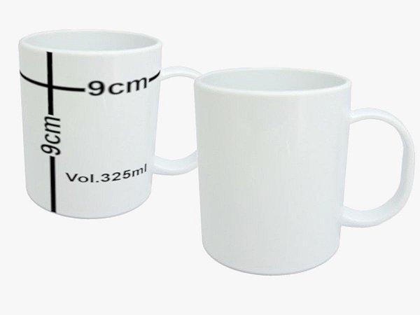 Caneca de Polímero Personalizada (325ml)