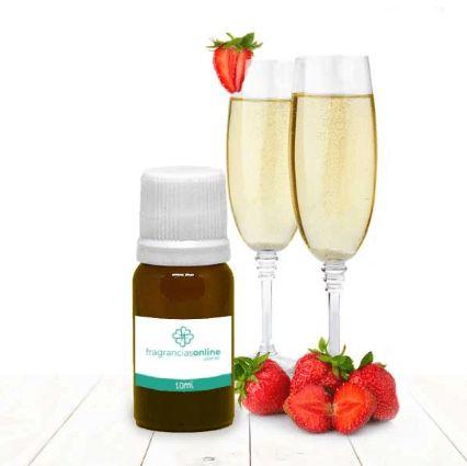 Fragrância Morango com Champagne