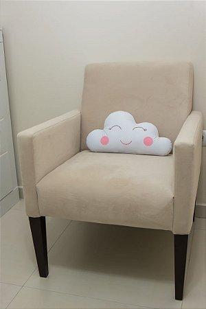 Almofadinha Nuvem - Branca para Personalizar