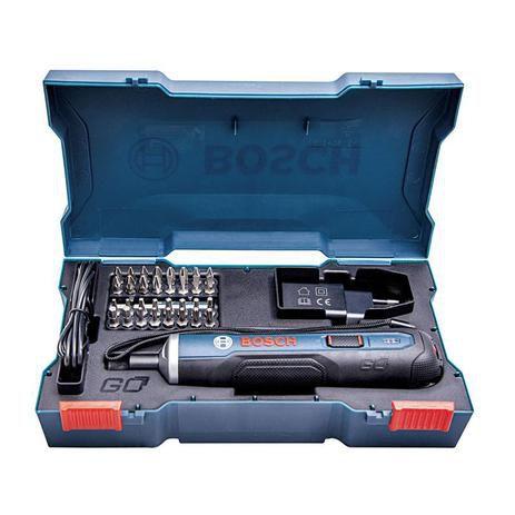 Parafusadeira à Bateria 3,6V BOSCH GO (BIVOLT) + Kit 33 Bits - BOSCH