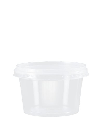 Kit Pote Redondo 250ml - Caixa com 500 unidades