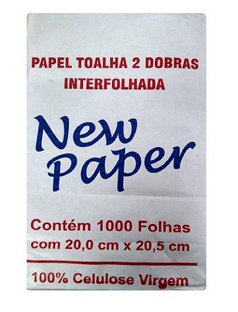 Papel Toalha Interfolha - Pacote com 1.000 unidades